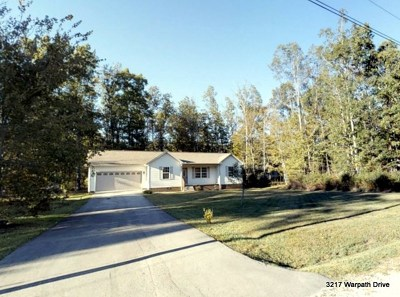 Crossville Single Family Home For Sale: 3217 Warpath Drive