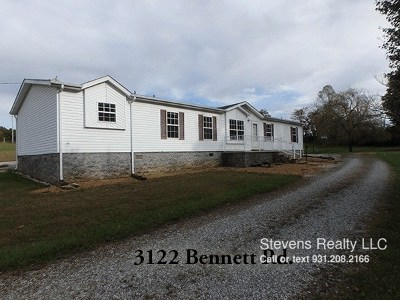 Cookeville TN Single Family Home For Sale: $1,099