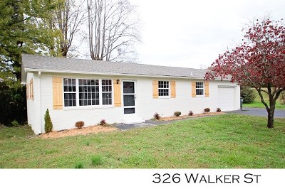 Sparta Single Family Home For Sale: 326 Walker Street
