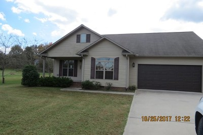 Cookeville TN Single Family Home For Sale: $163,000
