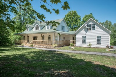 Gainesboro Single Family Home For Sale: 448 Brown Stafford Cem Lane