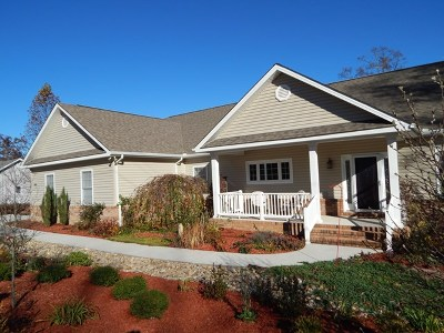 Crossville Single Family Home For Sale: 484 Peavine Firetower Rd.