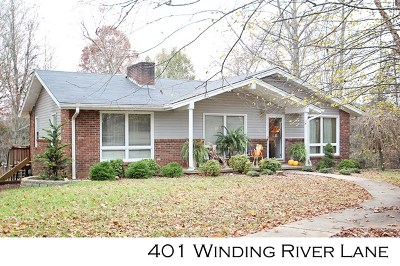 Sparta Single Family Home For Sale: 401 Winding River Lane