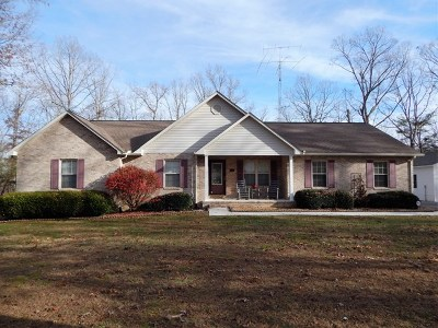 Crossville Single Family Home For Sale: 1378 Sunset Ridge Dr.