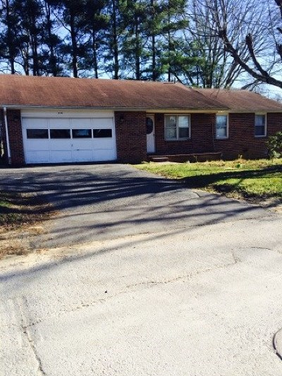 Monterey TN Single Family Home For Sale: $68,900