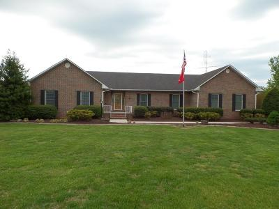Baxter Single Family Home For Sale: 6804 Cookeville Boatdock Road