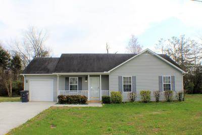Cookeville TN Single Family Home For Sale: $1,100