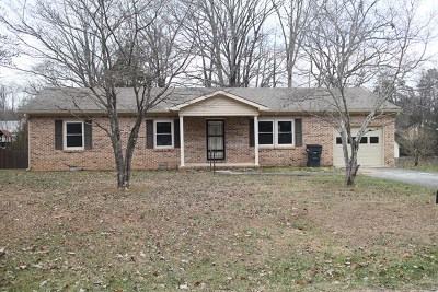 Cookeville TN Single Family Home For Sale: $900