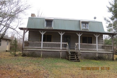 Crossville Single Family Home For Sale: 5352 Mayland Rd