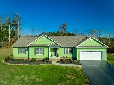 Cookeville Single Family Home For Sale: 2139 Bear Creek Circle