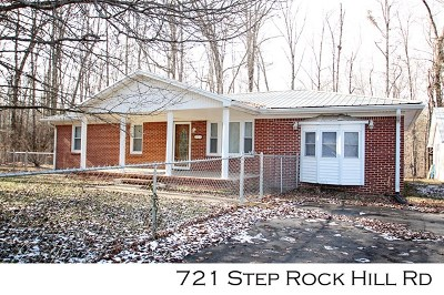 Cookeville Single Family Home For Sale: 721 Step Rock Hill Road