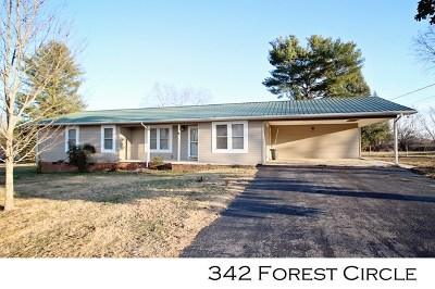 Sparta Single Family Home For Sale: 342 Forest Circle