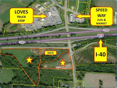 Cookeville, Baxter Residential Lots & Land For Sale: 15.24 Ac Olan Maxwell Rd.