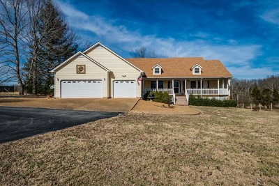 Cookeville Single Family Home For Sale: 1813 Harding Road