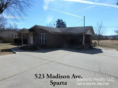 Sparta Single Family Home For Sale: 523 Madison St.