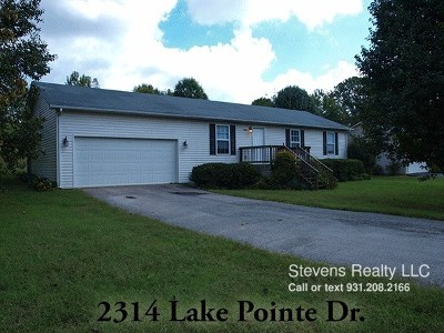 Cookeville TN Single Family Home For Sale: $1,149
