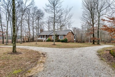 Cookeville Single Family Home For Sale: 1608 Zeb Warren Road