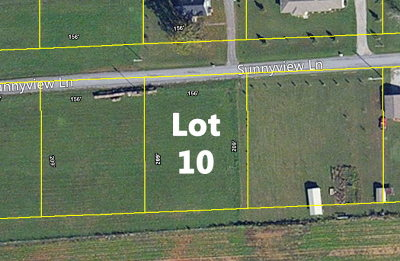 Cookeville Residential Lots & Land For Sale: Lot 10 Sunnyview Lane
