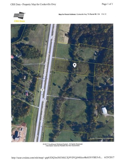 Cookeville Residential Lots & Land For Sale: 5 Acres Cookeville Highway