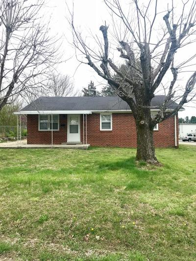 Cookeville TN Single Family Home For Sale: $107,000