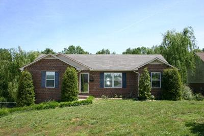 Cookeville Single Family Home For Sale: 3801 Deerwood Court