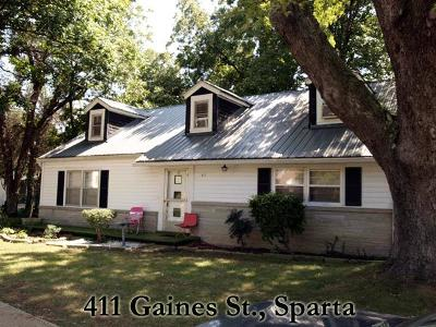 Sparta Single Family Home For Sale: 411 Gaines St.