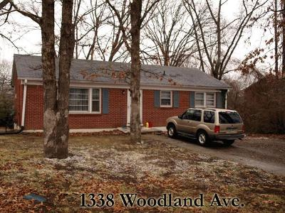 Cookeville Single Family Home For Sale: 1338 Woodland Ave.