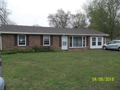 Cookeville TN Single Family Home For Sale: $115,000