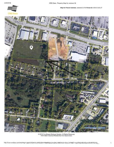 Cookeville Residential Lots & Land For Sale: 7.21 Ac Jackson Street
