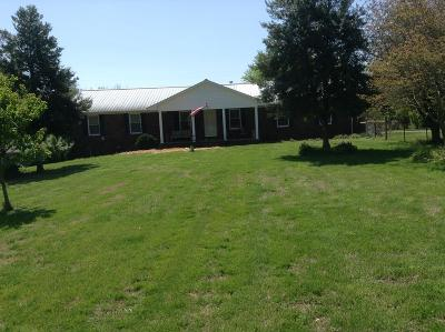 Cookeville Single Family Home For Sale: 5196 Buffalo Valley Rd