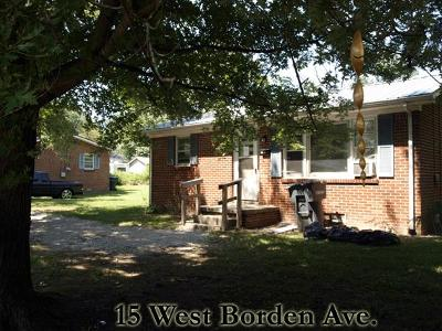 Cookeville Single Family Home For Sale: 15 Borden St.
