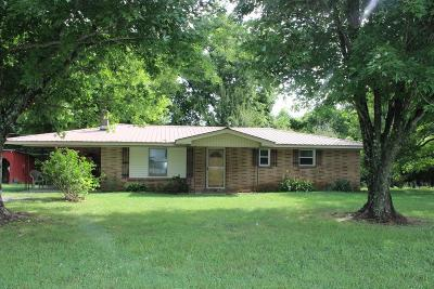 Gainesboro Single Family Home For Sale: 2641 Grundy Quarles Highway