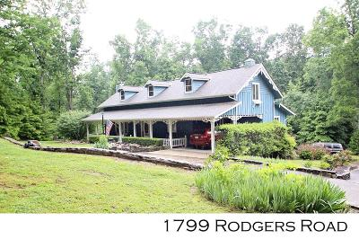 SPARTA Single Family Home For Sale: 1799 Rodgers Rd