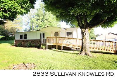 Sparta Single Family Home For Sale: 2833 Sullivan Knowles