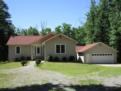 Monterey TN Single Family Home For Sale: $199,900