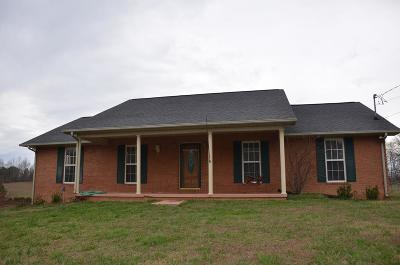 Single Family Home For Sale: 1560 Jones Chapel Road