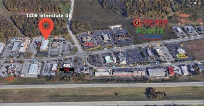 Baxter, Cookeville, Monterey Commercial For Sale: 1409 Interstate Drive