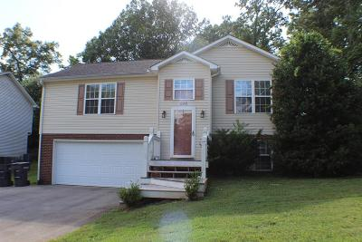 Cookeville TN Single Family Home For Sale: $1,300