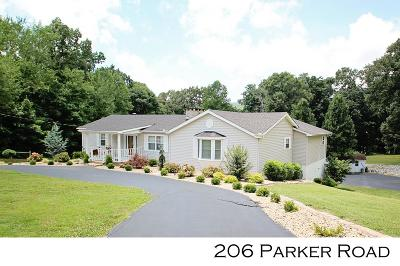 Sparta Single Family Home For Sale: 206 Parker Road