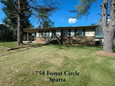 Sparta Single Family Home For Sale: 758 Forrest Circle