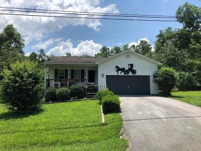 Crossville Single Family Home For Sale: 9060 Cherokee Trail