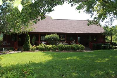 Bloomington Springs, Cookeville, Gainesboro, Granville, Hilham, Whitleyville Single Family Home For Sale: 611 Draper Hollow Lane