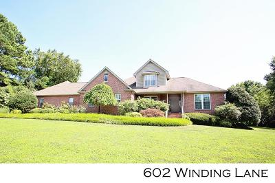 Sparta Single Family Home For Sale: 602 Winding Lane