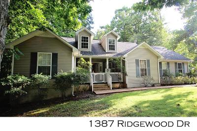 Sparta Single Family Home For Sale: 1387 Ridgewood Drive