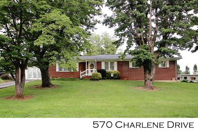 SPARTA Single Family Home For Sale: 570 Charlene Drive