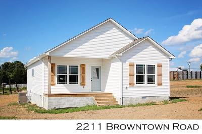 Sparta Single Family Home For Sale: 2211 Browntown
