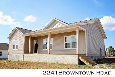 Sparta Single Family Home For Sale: 2241 Browntown Rd