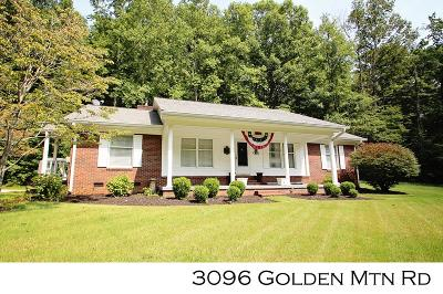 Sparta Single Family Home For Sale: 3096 Golden Mountain Rd