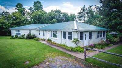 Gainesboro Single Family Home For Sale: 243 Gladdice Highway