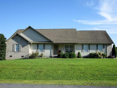 Crossville Single Family Home For Sale: 253 Hinch Mountain View Road